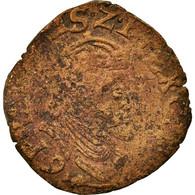 Monnaie, France, Liard, 1597, Arras, B+, Cuivre, Boudeau:1984 - 476-1789 Monnaies Seigneuriales