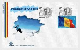 Andorra / Andorre - Postfris / MNH - FDC Vlag 2019 - Spaans-Andorra
