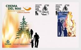 Andorra / Andorre - Postfris / MNH - FDC Populaire Cultuur 2019 - Spaans-Andorra
