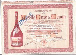 Action Vieille Cure De Cenon, (Gironde) Action De 2500 Francs - Actions & Titres