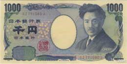 Japan 1000 Yen (P104c) (Pref: GZ) -UNC- - Japan
