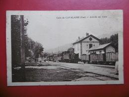 GARE DE CAVALAIRE ARRIVEE DU TRAIN - Cavalaire-sur-Mer