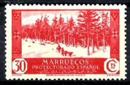 Marruecos Español Nº 153 Con Charnela - Marruecos Español