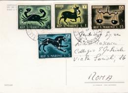 SAINT MARIN  SAN MARINO  : Divers Sur Carte Postale Vues Multiples - Lettres & Documents
