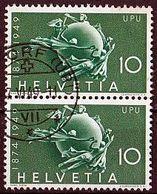SCHWEIZ Mi. Nr. 522 O Senkrechtes Paar (A-1-57) - Schweiz