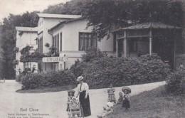 252561Bad Cleve, Hotel Kurhaus Und Stahlbrunnen. Partie Aus Dem Tiergarten. (poststempel 1912) - Otros