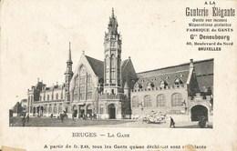 BRUGES-BRUGGE - La Gare - N'a Pas Circulé - Brugge