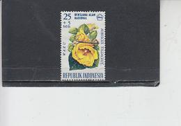 INDONESIA  1966 - Yvert 473 - Fiori - Indonesia