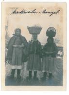 RO 00 - 15628 ORAVITA, Caras Severin, ETHNICS Women, Romania - Old Postcard, Real PHOTO 12/9 Cm - Unused - Romania