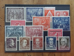 GERMANIA 1948/49 - Occupazione Sovietica - Lotticino Nuovi */** + Spese Postali - Nuovi