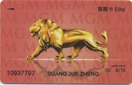 Carte De Membre Casino : MGM Grand Macau Macao : Elite - Cartes De Casino