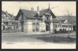 Auvernier - La Gare - Bahnhof - Tram - Tramway - 1905 - NE Neuchatel