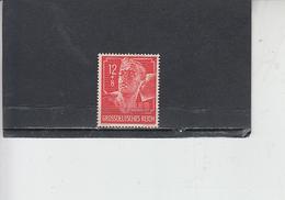 GERMANIA REICH  1944 - Unificato 815 - Lavoro - Germania