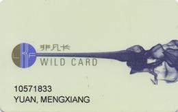 Carte De Membre Casino : Lan Kwai Fong Macau Macao : Wild Card - Cartes De Casino