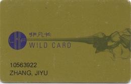 Carte De Membre Casino : Lan Kwai Fong Macau Macao : Wild Card GOLD - Cartes De Casino