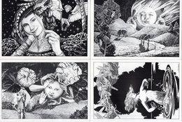 L. DUNHAM - 4 CP - Créations Graphiques Et Illustrations - Poitiers - Tirage Limité   (111479) - Illustrateurs & Photographes