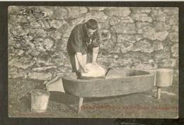 CP-ESPALION-AVEYRON - Fabrication Du Fromage De Laguiole - Espalion