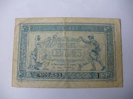 0.50 F TRESORERIE AUX ARMEES TYPE 1917 SERIE I - Treasury