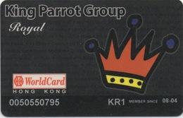 Carte De Membre Casino : King Parrot Group Royal : Genting Hong Kong : Star Cruises - Cartes De Casino