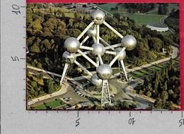 CARTOLINA VG BELGIO - BRUXELLES - Atomium - 10 X 15 - ANN. 1977 RUBENS - Monumenti, Edifici