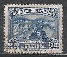 Ecuador 1944. Scott #408A (U) View Of Guayaquil ** - Equateur