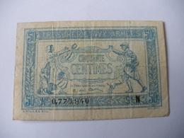 0.50 F TRESORERIE AUX ARMEES TYPE 1917 SERIE N - Treasury