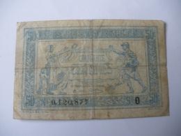 0.50 F TRESORERIE AUX ARMEES TYPE 1917 SERIE O - Trésor