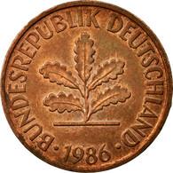 Monnaie, République Fédérale Allemande, 2 Pfennig, 1986, Stuttgart, TB+ - [ 7] 1949-… : FRG - Fed. Rep. Germany