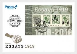 Faeroër / Faroes - Postfris / MNH - FDC Sheet Geschiedenis Van Postzegels 2019 - Faeroër