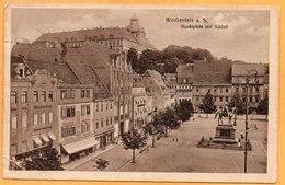Weissenfels A S Germany 1921 Postcard - Weissenfels