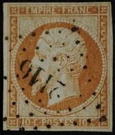 NAPOLEON III  .n°13 A Type I  Obl.PC  2116 MONTMARTRE - 1853-1860 Napoleon III