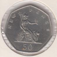 @Y@   Groot Brittanië   50  New Pence 1969   (4796) - Sonstige