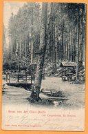 Gruss Elias Quelle Bei Langenbruck Bz Breslau 1908 Postcard - Poland