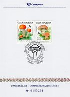 Czech Republic - 2019 - Frantisek Smotlacha, Czech Mycologist - Edible Mushrooms - Commemorative Sheet With Hologram - Repubblica Ceca
