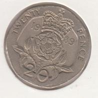 @Y@   Groot Brittanië   20 Pence 1989  (4793) - 1971-…: Dezimalwährungen