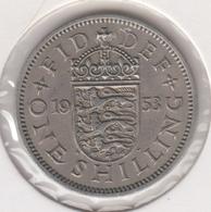 @Y@   Groot Brittanië   1 Shilling   1953  (4792) - 1902-1971: Postviktorianische Münzen