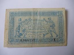 0.50 F TRESORERIE AUX ARMEES TYPE 1919 SERIE Y - Treasury