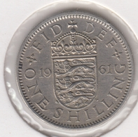 @Y@   Groot Brittanië   1 Shilling   1961  (4789) - 1902-1971: Postviktorianische Münzen