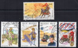 "Belgium - 2001 - ""Belgica"" Stamp Exhibition (2nd Issue) - Used - Belgique"