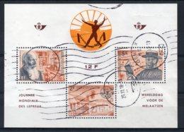 Belgium - 1964 - Leprosy Relief Campaign Miniature Sheet - Used - Belgique