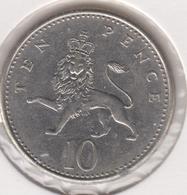 @Y@   Groot Brittanië   10 Pence   1962  (4787) - Sonstige