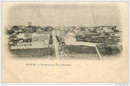17 FOURAS-LES-BAINS. Vue Prise De La Tour Marchand. Carte Pionnière Vers 1900 - Fouras-les-Bains