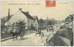WW 03 SAINT-POURCAIN-SUR-SIOULE. Hôtel Des Deux Pont Et Attelages 1911 - France