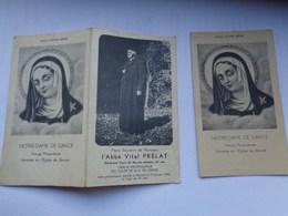 Réf: XXX.        BERZEE  N.D.de Grâce ( 2 )   L'Abbé Vital Prélat - Religion & Esotericism