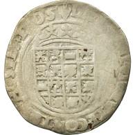 Monnaie, Belgique, Charles Quint, 1/2 Réal, Anvers, TB, Argent, Boudeau:2296 - Belgique