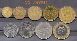 Circulated  Coins (2 Scans) //  Piéces Circulées (2 Scans) - Tunisie