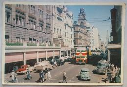 JOHANNESBURG - South Africa - Rissik Street, Looking South Towards The Old Post Office Clock - Cars  Vg - Sud Africa