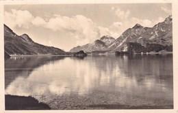 BLICK UBER DEN SILSER SEE AUF MALOJA (dil412) - Suisse