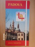 SHELL TOURING - PADOVA - 1961 - Wegenkaarten