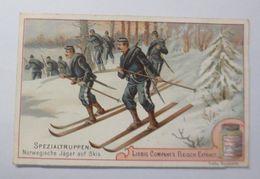 Liebig, Serie 38, Spezialtruppen, Norwegische Jäger Auf Ski  ♥   32026 - Liebig